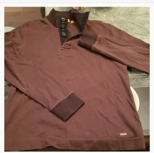 Hugo Boss mock sweater